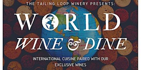 World Wine & Dine Series tickets