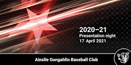 2020-21 End of season presentation night tickets