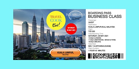 Travel Cook Eat! - Kuala Lumpur, Malaysia tickets