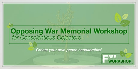 Create your own embroidery peace  handkerchief tickets