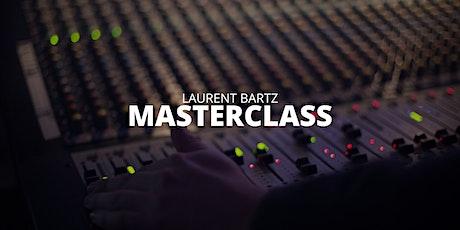 Laurent Bartz Masterclass tickets