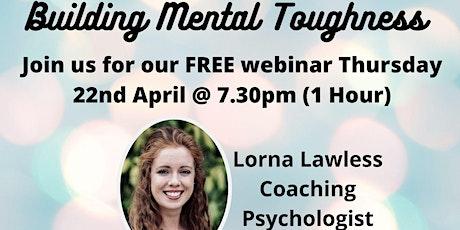 Building Mental Toughness  Webinar tickets
