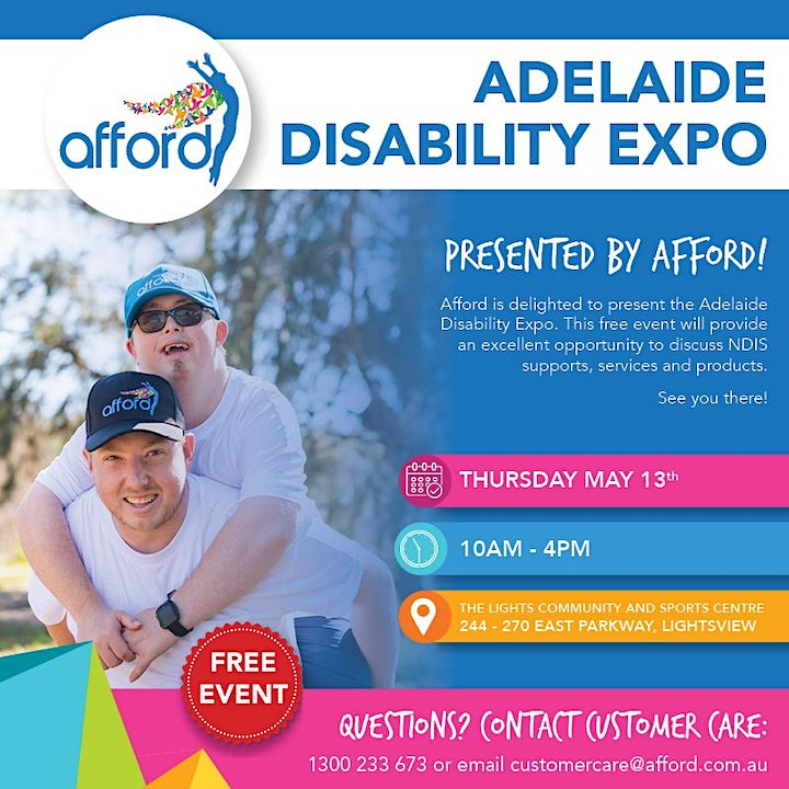 Adelaide Disability Expo Presented by Afford image