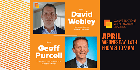 Digital Growth Journey with Geoff Purcell, CTO Melbourne Water tickets
