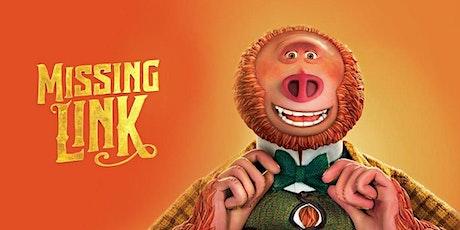 Cinema Pop Up - Missing Link - Shepparton tickets