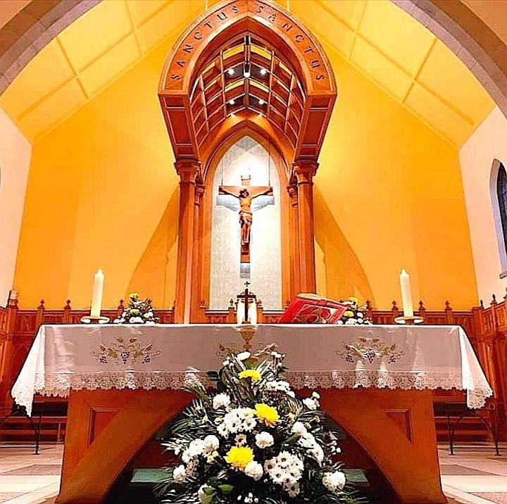 Vigil Mass - St James' Coatbridge - Saturday 19th June 2021 - 4.15pm image