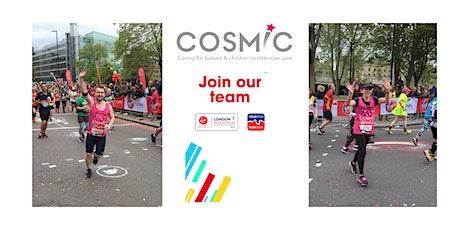 Virtual London Marathon 2021 for COSMIC tickets