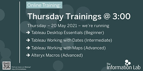 Thursday Trainings at Three tickets