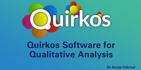 Quirkos! - Simple and effective qualitative research software tickets