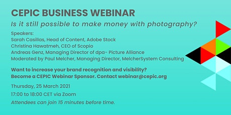 Recording of CEPIC Business Webinar tickets