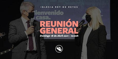 Reunión general - 18/04/21 - 10:00h tickets