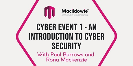 Cyber Event 1 - An Introduction to Cyber Security tickets