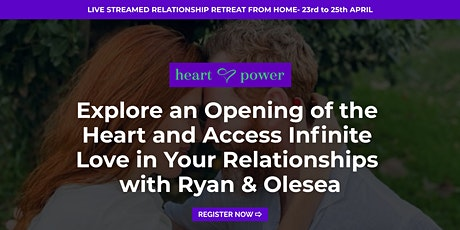 Explore an Opening of the Heart and  Infinite Love in Your Relationship tickets
