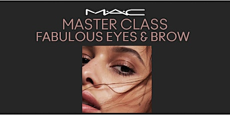 MAC MASTERCLASS FABULOUS EYES & BROWS biglietti