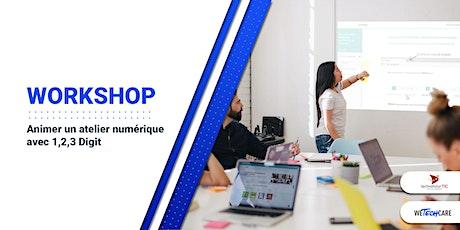 Workshop 2 : Animer un atelier numérique avec 1,2,3 Digit tickets