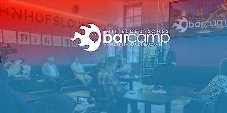 Mitteldeutsches Barcamp Tickets