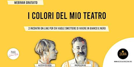 I COLORI DEL MIO TEATRO - webinar gratuito biglietti