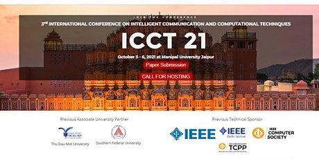 3rd International Conference ICCT 21 tickets