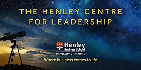 Post-Pandemic Healthy Leadership – Where do we need to go? tickets