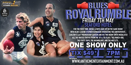 Blues Royal Rumble LIVE at Seaford Hotel! tickets