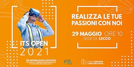 ITS OPEN 2021 - Focus sulla sede di Lecco biglietti