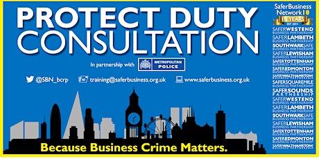 Protect Duty Consultation Webinar tickets