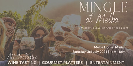 Mingle at Melba tickets