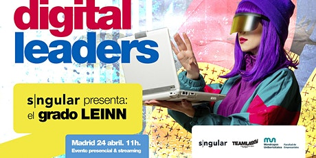 SNGULAR PRESENTA EL GRADO LEINN EN MADRID & STREAMING entradas