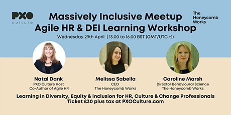 Massively Inclusive Meetup | Agile HR & Diversity, Equity & Inclusion tickets