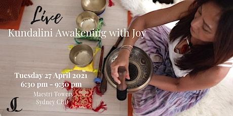 Live Kundalini Awakening with Joy tickets