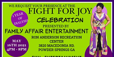 FIGHT  FOR JOY tickets