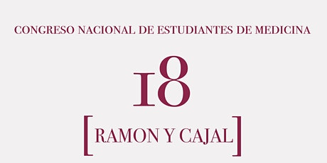 XVIII CONGRESO MEDICINA  RAMÓN Y CAJAL y/o CARRERA BENÉFICA VIRTUAL entradas