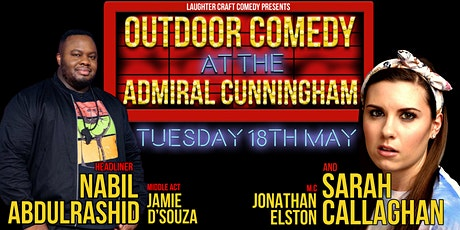 Outdoor Comedy at the Admiral Cunningham tickets