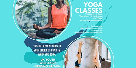 ChallengeSet Yoga Sessions Tickets
