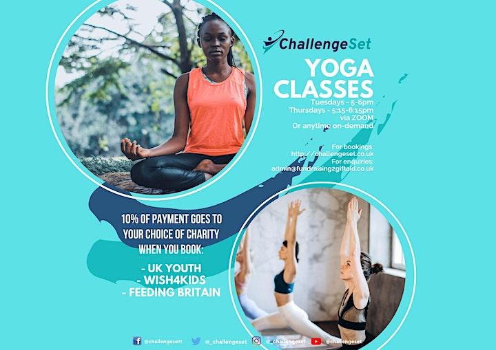 ChallengeSet Yoga Sessions image