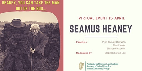 Heaney, you can take the Man out of the Bog… tickets