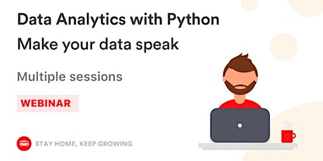 [Free workshop] Data Analytics with Python billets