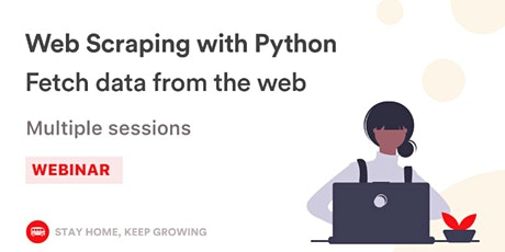 [Free workshop] Web Scraping with Python billets