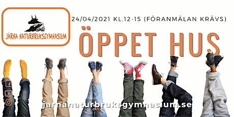Öppet Hus Järna Naturbruksgymnasium tickets