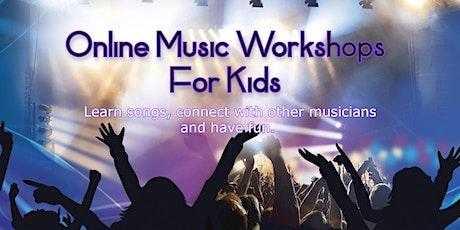 Online Kids Band Workshop tickets
