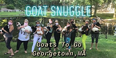 Charity Goat Snuggle & Learn (TBA) tickets