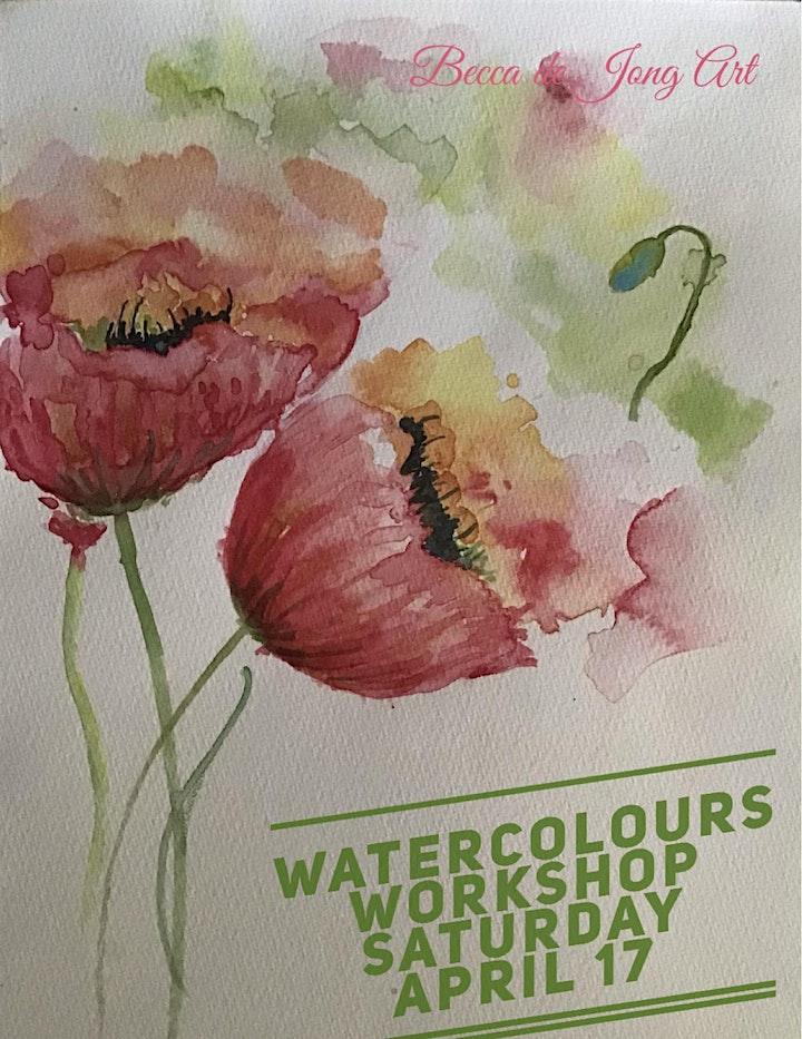 Watercolours Painting Workshop image