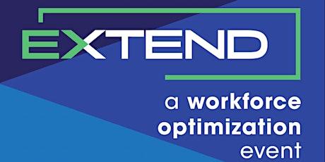 EXTEND. A Workforce Optimization Event tickets