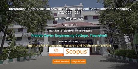 International Conference on Advanced Computing tickets
