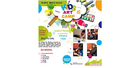 Children's Art Camp tickets