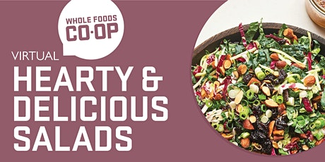 Hearty and Delicious Salads - A FREE virtual Co-op Class tickets