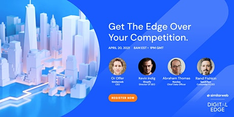 Similarweb Digital Edge 2021 Tickets