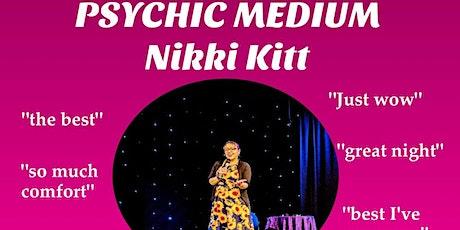 Evening of Mediumship with Nikki Kitt - Newton Abbot tickets