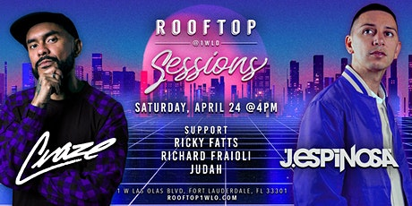 Rooftop Sessions featuring Craze & J.Espinosa tickets