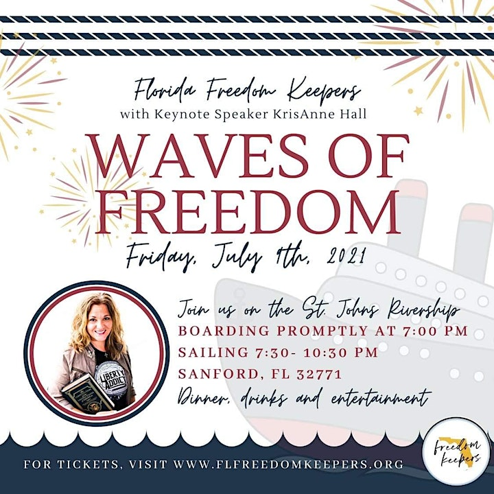 Waves of Freedom w/KrisAnne Hall image
